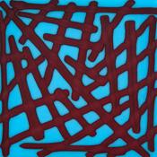 Red Reactive Transparent Noodle Fusible 96 COE
