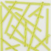 Yellow Semi-Opal Noodle Fusible 96 COE