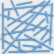 Turquoise Blue Opal Noodle Fusible 96 COE