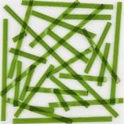 Moss Green Transparent Noodle Fusible 96 COE