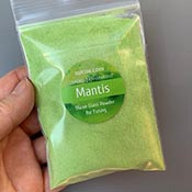 Mantis Green 96 COE Powder Frit (3 oz.)