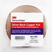 Silver Back Foil Tape (1/4 in.) 1.5 mil