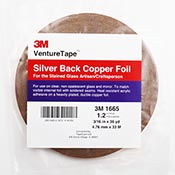 Silver Back Foil Tape (3/16 in.) 1.5 mil