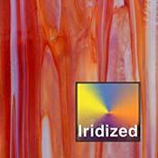 Dark Red / Opal Dense Iridized