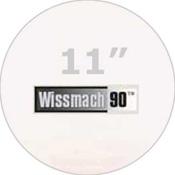 Pre-cut 11 in. Circles Clear Wissmach 90 (package of 10)
