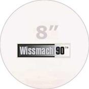 Pre-cut 8 in. Circles Clear Wissmach 90 (package of 10)