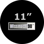 Pre-cut 11 in. Circles Black Wissmach 90 (package of 10)