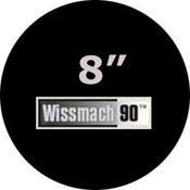 Pre-cut 8 in. Circles Black Wissmach 90 (package of 10)