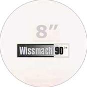 Pre-cut 8 in. Circles White Wissmach 90 (package of 10)