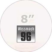 Pre-cut 8 in. Circles Clear Wissmach 96 (package of 10)