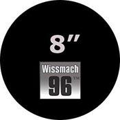 Pre-cut 8 in. Circles Black Wissmach 96 (package of 10)