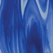Wissmach 96 COE Prisma Midnight Blue/White Fusible