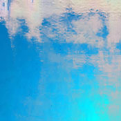 Wissmach 96 COE Sea Blue Transparent Luminescent Fusible