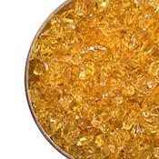 Honey Transparent Coarse Frit 96 COE