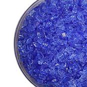 Cornflower Blue Transparent Coarse Frit 96 COE