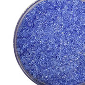Cornflower Blue Transparent Medium Frit 96 COE