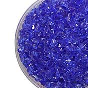 Sapphire Blue Transparent Coarse Frit 96 COE