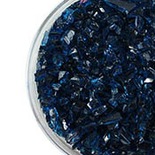 Sea Blue Transparent Coarse Frit 96 COE