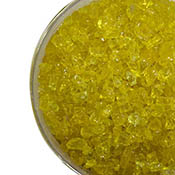Yellow Transparent Coarse Frit 96 COE
