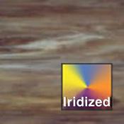 Opal / Dark Gray / Brown Wisspy Iridized