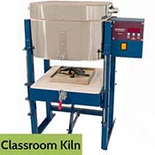 Drop/Rake Vegas Class Kiln - 8 in. L x 8 in. W x 6-3/4 in. D - UPS-able
