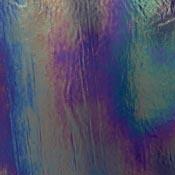 Y96 Deep Cobalt Blue Opal Iridized Fusible 96 COE