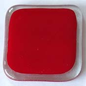 Y96 Red Opal Fusible 96 COE