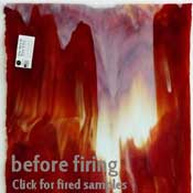Y96 Fire & Ice Mix (Red & Opal) Fusible 96 COE