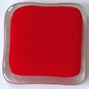 Y96 Light Red Opal Fusible 96 COE