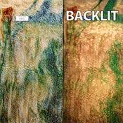 Beige Opal, Dark Green Cathedral Streak with Brown Streaks Granite